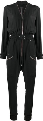 Rick Owens Zip-Through Boiler Suit