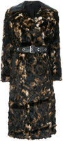 Helmut Lang embroidered coat