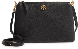Tory Burch Kira Pebbled Leather Wallet Crossbody Bag