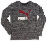 Puma Boys No. 1 LS Logo Tee