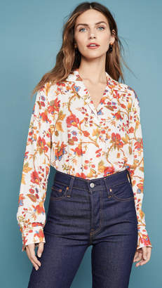 Bohemia Alix of Milo Silk Floral Shirt