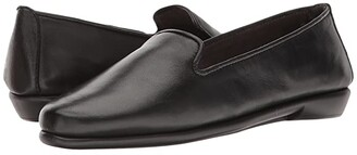 Aerosoles Betunia (Black Leather) Women's Flat Shoes