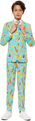 OppoSuits Cool Cones Two-Piece Suit with Tie