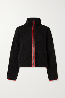 All Access Soundtrack Faux Shearling Jacket - Black