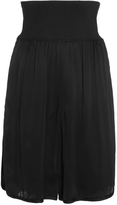 Sonia Rykiel Satin Short With Knitted Belt