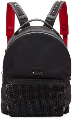 Christian Louboutin Men's Backloubi Empire Spikes Backpack