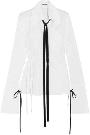 Ann Demeulemeester Long Sleeved Top