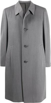 A.N.G.E.L.O. Vintage Cult 1970s Simon Ackerman's slim-fit knee-length coat