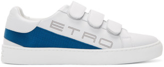 Etro White Logo Trainer Sneakers