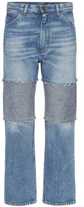 Maison Margiela Distressed Recycled Cotton Denim Jeans