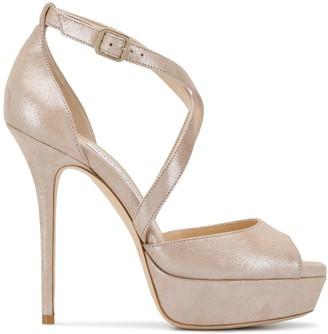 Jimmy Choo Jenique 125mm platform sandals