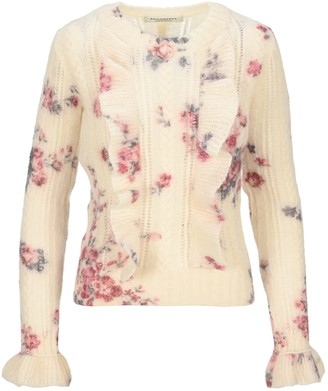 Philosophy di Lorenzo Serafini Philosophy Floral Ruffle Sweater