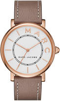 Marc by Marc Jacobs Women's Roxy Cement Leather Strap Watch 36mm MJ1533