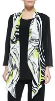 Caroline Rose Twist of Lime Waterfall Jacket