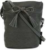 Brunello Cucinelli bucket bag - women - Leather/Metallized Polyester - One Size