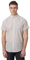 Ben Sherman Pink Checked Short Sleeve Shirt