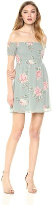 Show Me Your Mumu Women's Dolly Smocked Floral Dress