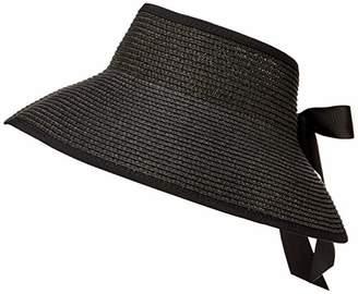 Under Zero Women's Bowknot Foldable Summer Sun Visor Hat
