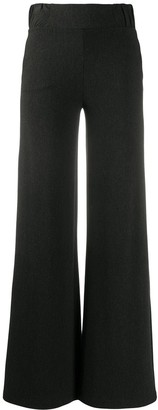 Le Petite Robe Di Chiara Boni Hailee Crepe flared-leg trousers
