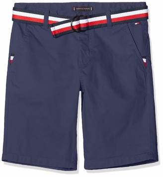 Tommy Hilfiger Boy's Essential Belted Chino Shorts