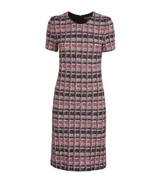 St. John Camellia Tweed Knit Dress