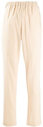Forte Forte elasticated-waist tapered trousers