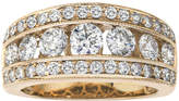 JCPenney MODERN BRIDE 2 CT. T.W. Diamond 14K Yellow Gold Band