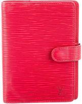 Louis Vuitton Epi Agenda Cover PM
