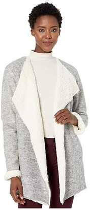 UGG Abriana Shawl Cardigan (Black) Women's Clothing