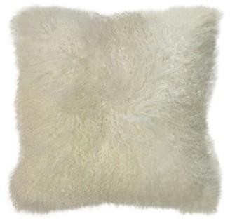 Callisto Home Mongolian Fur Pillow