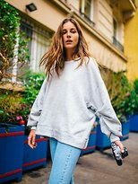 We The Free Pleatin' Sleevin' Pullover at Free People