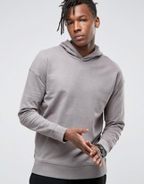 Selected Hoodie With Dropped Shoulder