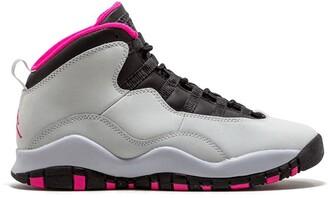 Nike Kids TEEN Air Jordan 10 Retro sneakers