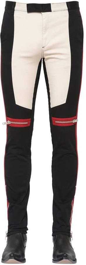 Givenchy Motocross Neoprene Biker Pants