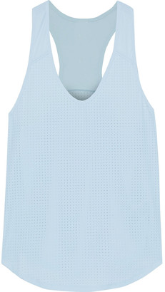 The Upside Lilo Perforated Stretch-jersey Tank