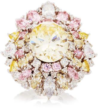Anabela Chan Diamond Mirage Ring Size: 6