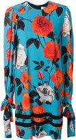 MSGM floral print dress