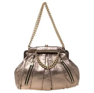 Christian Louboutin Metallic Leather Handbags