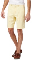 Maine New England Big And Tall Yellow Chino Shorts