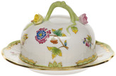 Herend Queen Victoria Covered Butter Dish