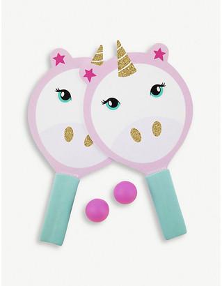 Sunnylife Unicorn plastic and foam beach bats set of 2