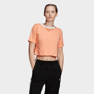 adidas Women's Crop Ringer T-Shirt