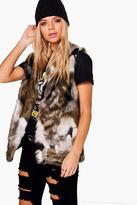 Boohoo Zoe Faux Fur Gilet