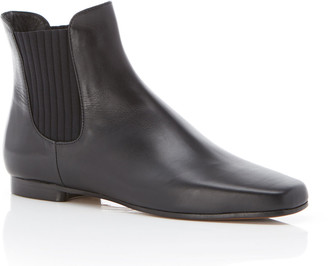 Marion Parke Richardson Flat Leather Ankle Booties