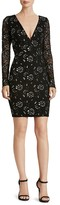 Dress the Population Erica Two Tone Lace Dress