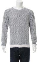 Billy Reid Pullover Pinstripe Sweatshirt