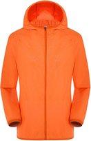 Lanbaosi Men's Lightweight Jacket Windbreaker Quick Dry Waterproof Travel Skin Coat