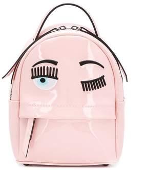 Chiara Ferragni mini vinyl backpack
