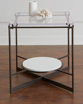 Hooker Furniture Emmeline Metal and Acrylic Side Table