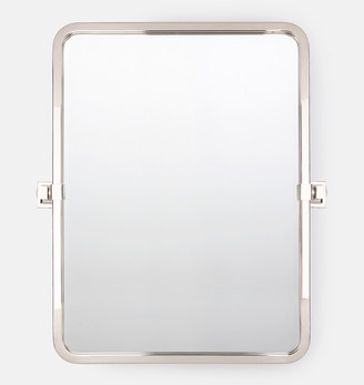 Rejuvenation Bixby Rounded Rectangle Pivot Mirror